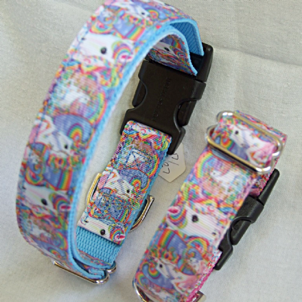 Unicorn Webbing collar